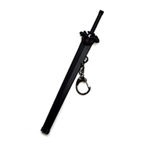 Schlüsselbund Schlüsselanhänger Schwert Art Online Kazuto Kirito Tal Stern Schwert Mantel Legierung Keychain Schlüssel Ring