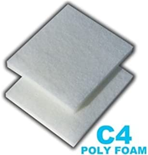 12 Poly Foam Pads for Fluval C4 Filter by Zanyzap