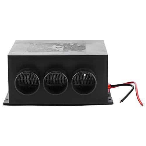 Qqmora Calentador de Coche para Coche, 12V 600W, Ventilador para Parabrisas para Piezas de Repuesto, Accesorios Interiores de Coche