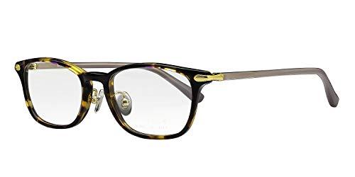 鯖江ワークス(SABAE WORKS) 遠近両用メガネ おしゃれ ウェリントン OL542 (遠近両用 度数+1.50, C3 ブラウンデミ)
