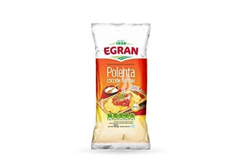 Egran- Polenta ( Harina de Maíz Precocida) Cocción Rapida - Producto Argentino - 500 Gramos