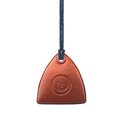 5665 Collar islámico Cevsen, marrón, muska, islam, tamaño: aprox. 4 cm x 3 cm, Corán, musulmán
