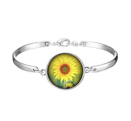 Xubu Bohemian Fashion Sieraden, Persoonlijkheid Armbanden, Zonnebloem Armbanden, Geschenken voor haar