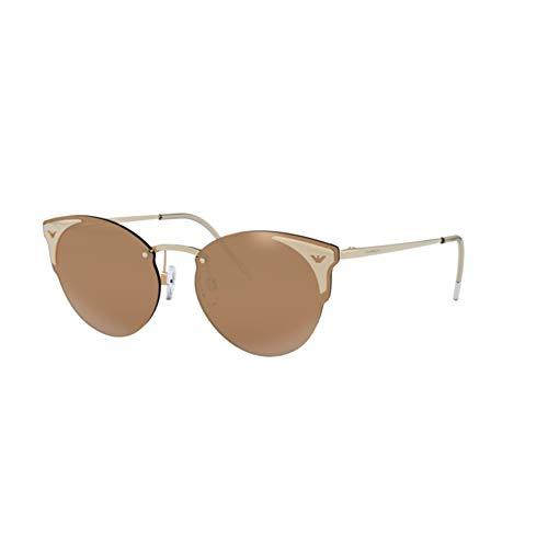Emporio Armani 0EA2082 Gafas de sol, Light Gold, 58 para Mujer