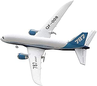 2.4G Remote Control Boeing 787 Airplane Large Simulation Aircraft Model Material Anti-fall RC Plane Toy Outdoor Fixed Wing...