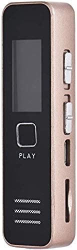 ProTech Electronics Digital Voice Recorder 8GB Digital Audio Sound Recorder Dictaphone Voice Activated Recorder with MP3 Player Dual Microphones Zinc Alloy for Meeting Lecture and More Updated Model 2020 Silver
