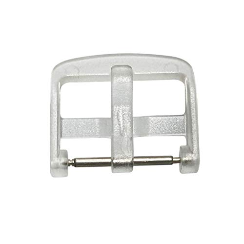 Unlimited Cellular Replacement Buckle/Tongue Clasp for Verizon LG Gizmo/GizmoPal Band (Band is not included)- Clear