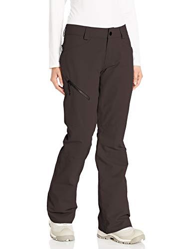 Volcom skibroek voor dames, zwart