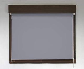 Estor TÉRMICO Opaco Premium (Desde 40 hasta 300cm de Ancho, no Permite Paso de la luz y sin Visibilidad Exterior). Color Gris Oscuro. Medida 160cm x 260cm para Ventanas y Puertas