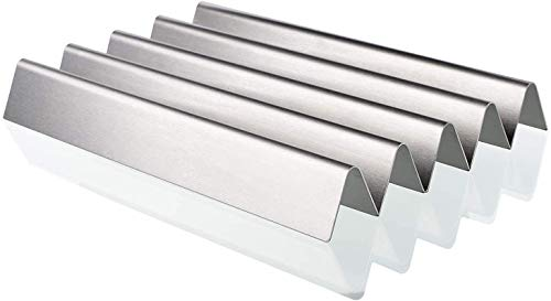 Denmay 7537 1,5mm Dicker Flavorizer Bars 57,2 cm für Weber Spirit 300 Serie, E310, E320, 700, Genesis Silver Gold Platinum B/C, 900 Gas Grills, SUS304 Edelstahl Aromaschienen, 7536