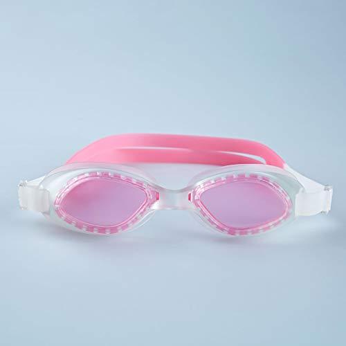 jsauwi - Gafas de natación para Adultos, Unisex, con Correa de Silicona