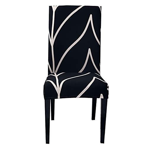 Moligin Stuhlabdeckungen Stretch Esszimmer Sitzschutztischabdeckung Abnehmbare Waschbare Stuhl Sitzkissen Slipcover Für Essstühle