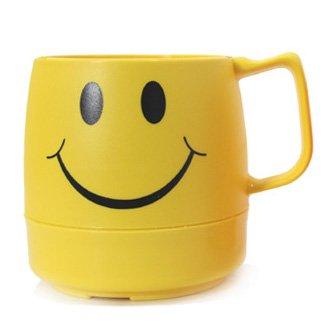 DINEX(ダイネックス) クラシックマグカップ スマイルイエロー/ウインクオレンジ・CLASSIC MAG CUP SMILE/WINK (スマイル(イエロー))