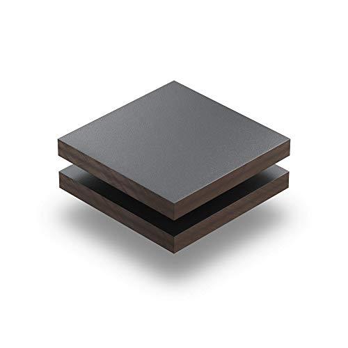 Panel Fenolico HPL 8mm espesor Gris Grafito 1 cara (HPL,