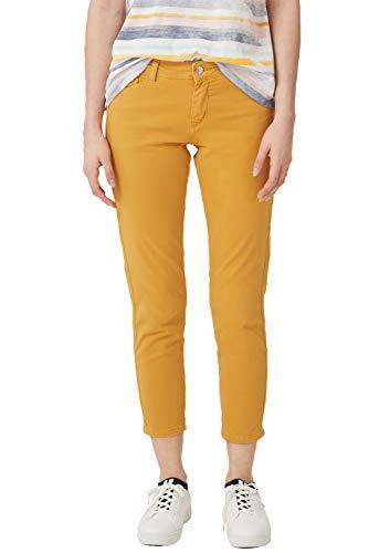 Pantalones vaqueros amarillos para mujer
