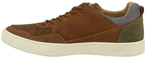 BULLBOXER 648K20319A Herren Sneakers Cognac, EU 44