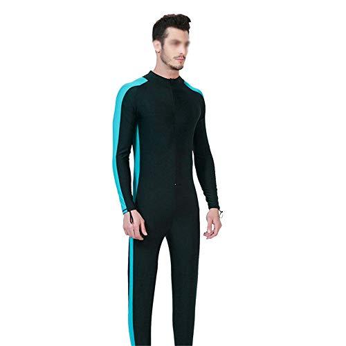 HO-TBO mannen wetsuit, mannen Siamese zonnebrandcrème Jellyfish Snorkeling pak lange mouw duikpak mannen zwemkleding Surfing Suit ideaal voor beginners en sport fans