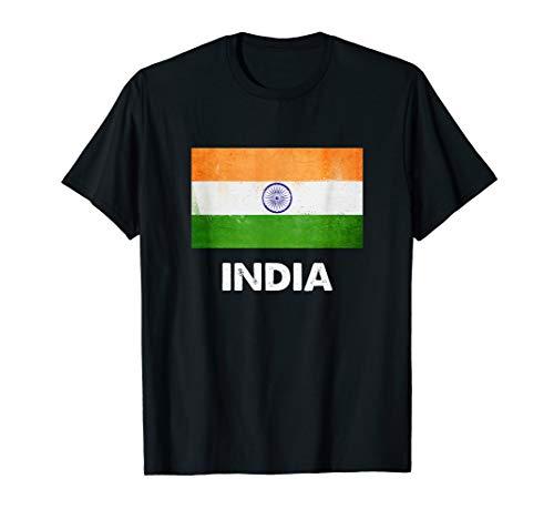 Indien Flagge Trikot   Indisch T-Shirt