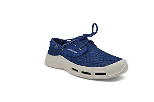 SoftScience Men's MB0005DKB The Fin Shoes, Dark Blue, Size EU45
