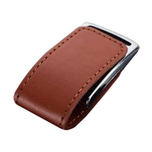 Skyeye Funda de Piel Marron Estilo U Disco USB Flash Drive Pen...