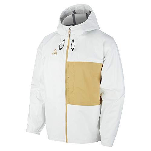 Nike Sportswear ACG - Chaqueta para hombre, M, Summit Blanco/Club Gold