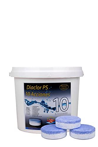 DIASA INDUSTRIAL Cloro para Piscinas DIACLOR PS 10 ACCIONES 5 KG -...