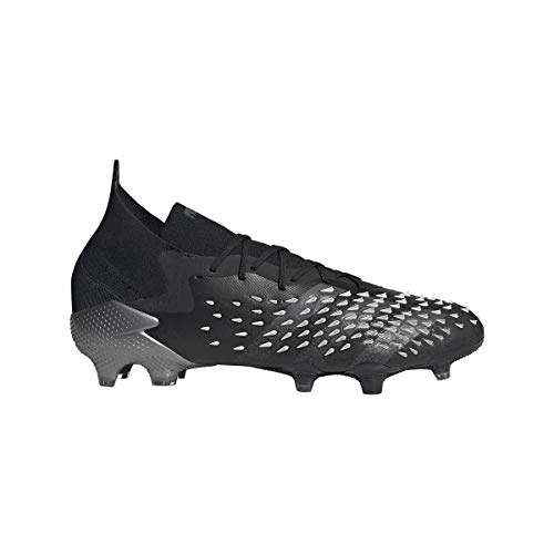 adidas Men's Football Soccer Shoe, Core Black Grey Four FTWR...