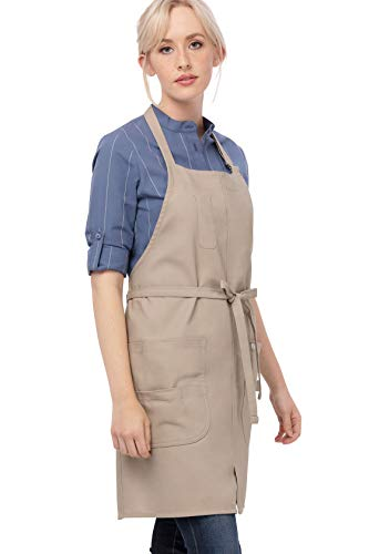 Chef Works Unisex Logan Bib Apron