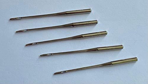 Singer 5 agujas originales Overlock (Ultralock 14SH) para máquina de coser 2022, grosor 80/11