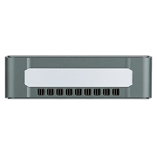 Cosiki Mini PC, Mini computadora de la aleación de Aluminio, SSD 4GB RAM + 64GB para Viajes de(European regulations)
