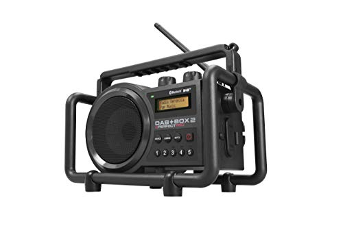 Perfectpro Dab+Box 2 - Radio (Portátil, Dab+,FM, 7 W, 12,7