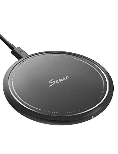 Wireless Charger, Seneo 10W Fast Wireless Charging Pad, 7.5W Compatible iPhone 11/11 Pro/11 Pro...