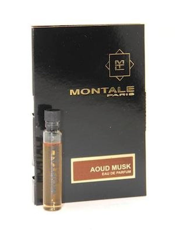 町比類のない引き潮Montale Aoud Musk EDP Vial Sample 2ml(モンタル ウード ムスク オードパルファン 2ml)[海外直送品] [並行輸入品]