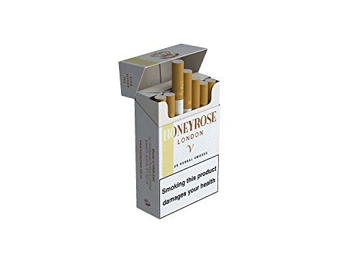 Honeyrose Vanilla Herbal Cigarettes - 1 Pack contains 20 cigarettes