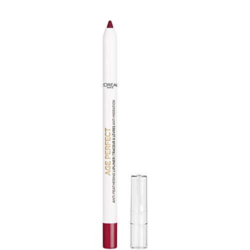 L'Oreal Paris Age Perfect Anti-Feathering Lip Liner, Perfect Burgundy