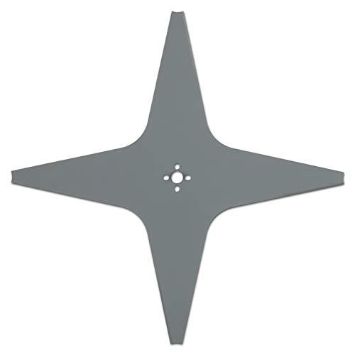 Arnold Mähklinge AR9 passend für Alpina, Ambrogio, Lawn Bott, Lizard, Stiga und Wiper Mähroboter, 290 mm / 4 Schneiden 1111-S6-0032-Cuchilla para cortacésped Cortes, Gris