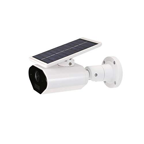 XJJZS Cámara Impermeable al Aire Libre de batería Solar de bajo Consumo de energía Consumo Cámara de vigilancia inalámbrica for la Seguridad casera