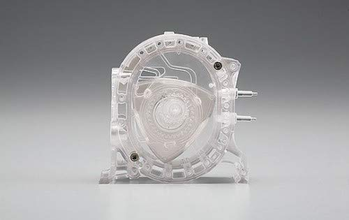 Aoshima 78426 Engine Model No.01 Rotary, 1/5 Scale Plastic Vehicle Model Completed Kit