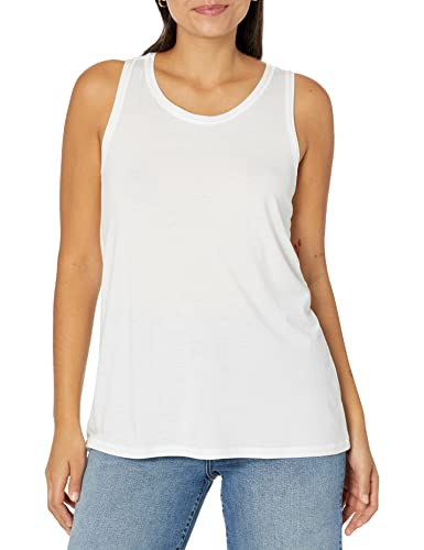 The Drop Lauren Camiseta sin mangas con escote redondo y espalda nadadora para Mujer