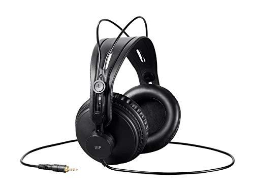 1. Monoprice Modern Retro Over Ear Headphones