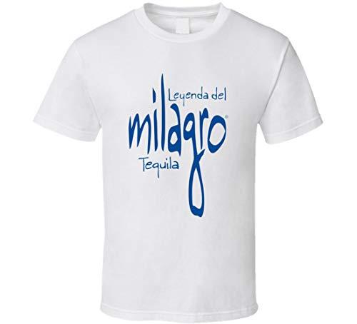 N/Y Leynda Del Milagro Tequila Booze Drink T-Shirt, Weiß Gr. XXL, Schwarz