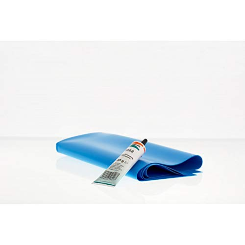 BON POOL Folienreparatur-Set + 25x50cm Poolfolie