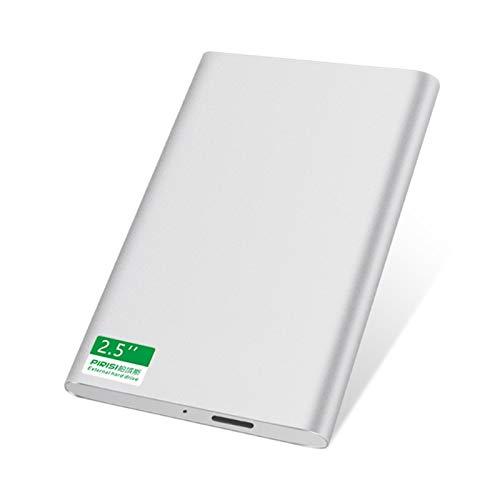 Lsmaa Disco Duro Externo de 1TB, Disco Duro USB3.0 320 g de 250 g de 160 g 120g 80g 60g de Almacenamiento para una transmisión rápida y Estable, para PC, Mac, Tableta, Caja de TV, 4 Colores