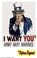 Poster 225 Motivational Uncle Sam Poster, Army Poster, Stay in School Poster, Get Diploma