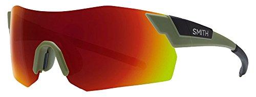 SMITH Pivlockare.Maxn X6 Bhp 99 Gafas de sol, Verde (Green Black/Red Marl Cp), Unisex Adulto