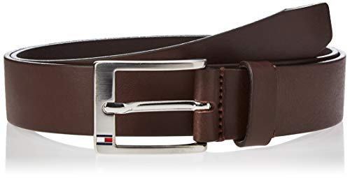 Tommy Hilfiger New Aly Belt, Ceinture Homme, Marron (TESTA DI MORO-EUR), 95(UK)