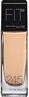 Maybelline Fit Me Foundation - 30 ml, 245 Medium Beige
