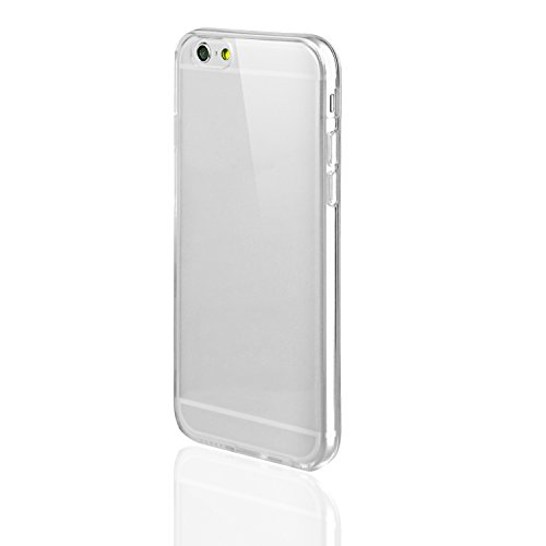 technext020 iPhone 6S Clear Case, Shockproof Ultra Slim Fit Silicone Transparent TPU Soft Gel Rubber Cover Shock Resistance Protective Back Bumper for iPhone 6 Clear