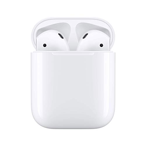 Apple AirPods 2 with Charging Case - White (Renewed)
