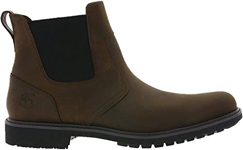 Timberland Timberland Herren Larchmont Chelsea Chukka Boots, Braun (Oakwood FG with Suede), 40 EU